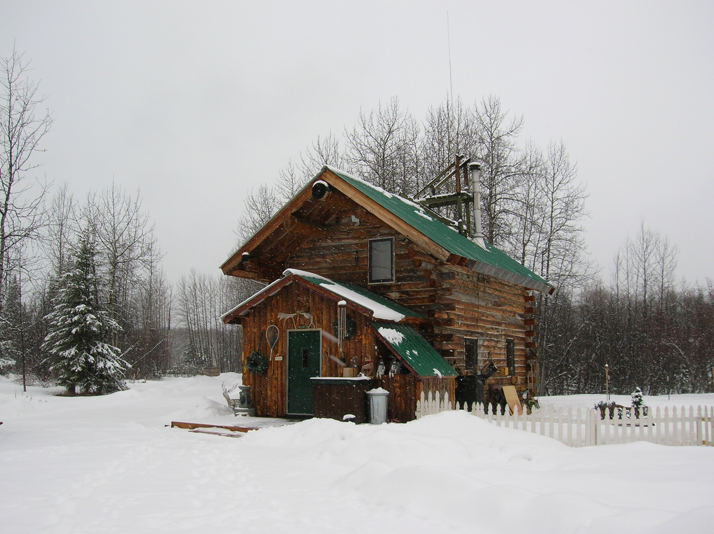 Alaskan log cabin living for Alaska cottage